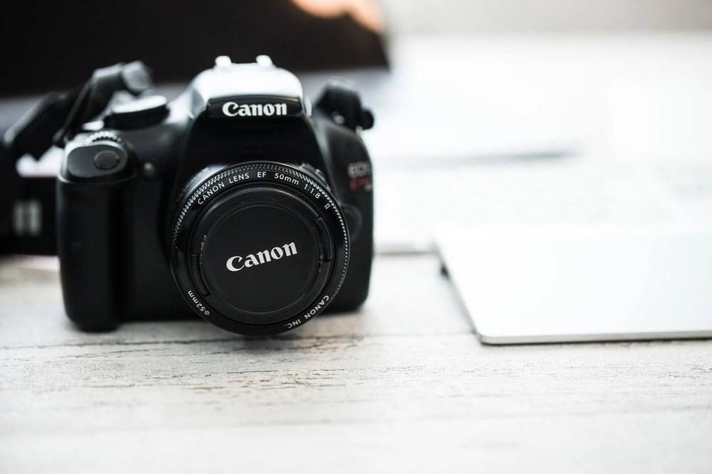 Canonのデジタル一眼レフカメラ