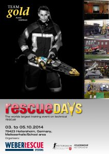 Download Weber Rescue UK Rescue Days 2014 Flyer Here