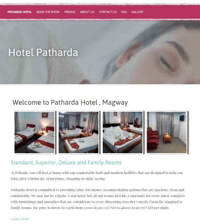 Hotel Patharda @ Magway
