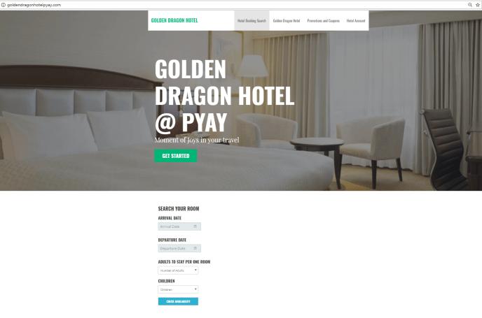 Hotel Golden Dragon @ Pyay