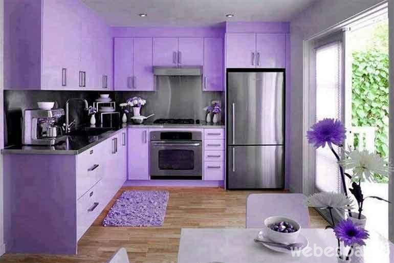 18 Cocinas de diferentes colores que desears tener en tu