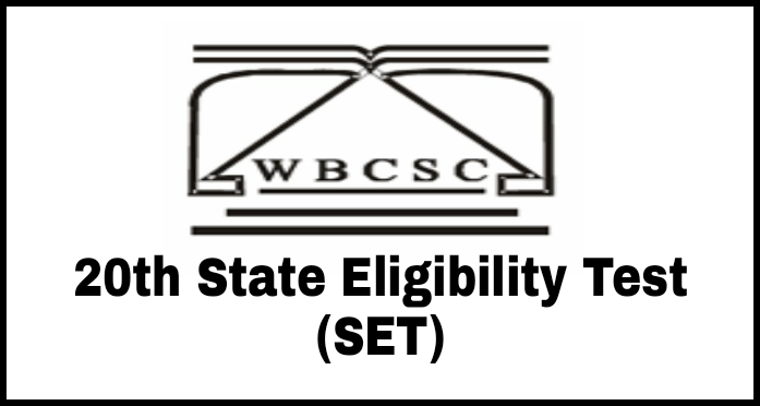 WBCSC 20th State Eligibility Test (SET) Online Application