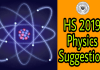 HS 2019 Physics Suggestion