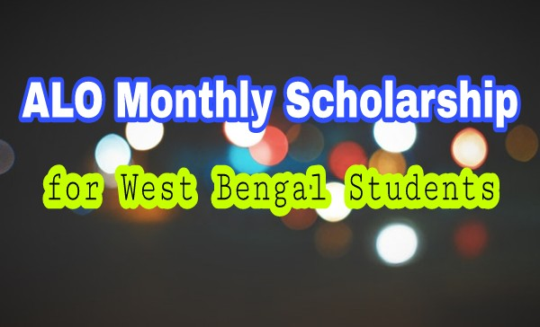 ALO Scholarship for WB students