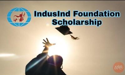 IndusInd Foundation Scholarship