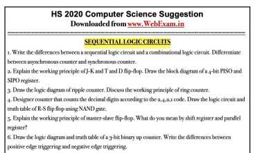 HS 2020 Computer Science Suggestion