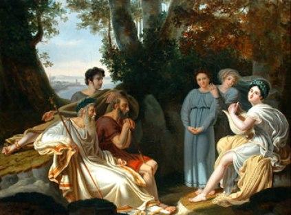 Sappho Sings for Homer