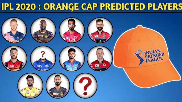 IPL 2020 Orange Cap