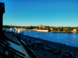 The view from the Axiomatics offices towards Skeppsholmen and AF Chapman