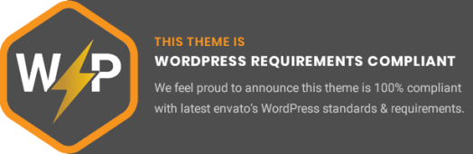 WordPress Requirements Compliant Education WordPress theme