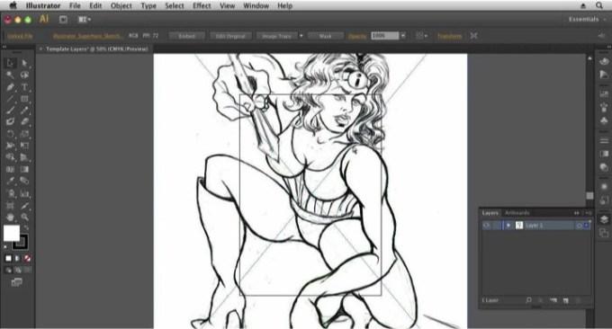 Aprender con los cursos gratuitos de Illustrator