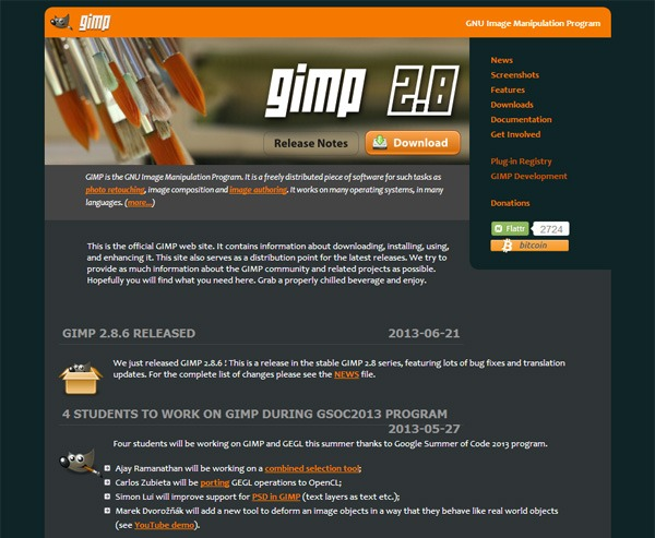 gimp is not a