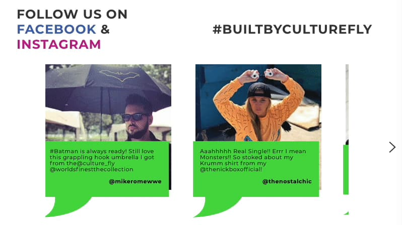 Testimonials from Culture Fly