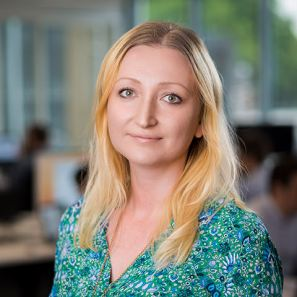 Alona Malinovska, Head of Client Services