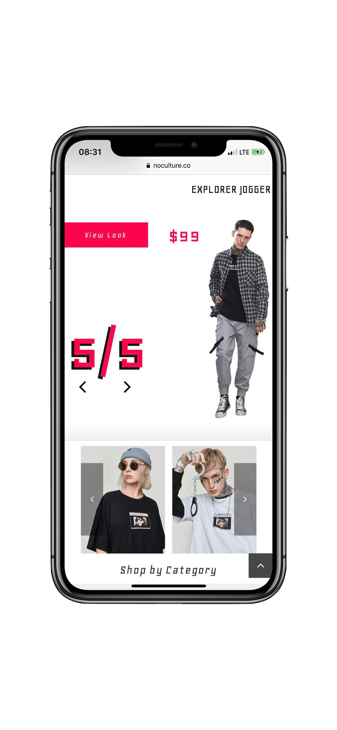 Website Development in Montreal for clothing brand