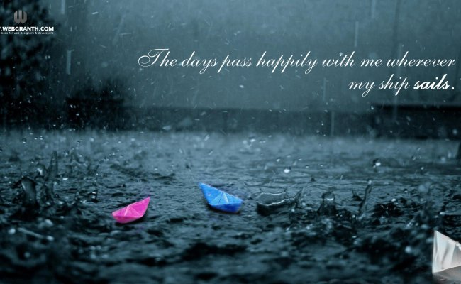 Rain Wallpaper Best Collection Of Rainy Desktop Hd
