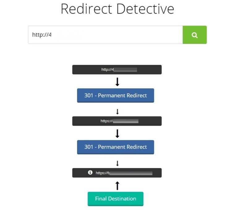 Redirect Detective