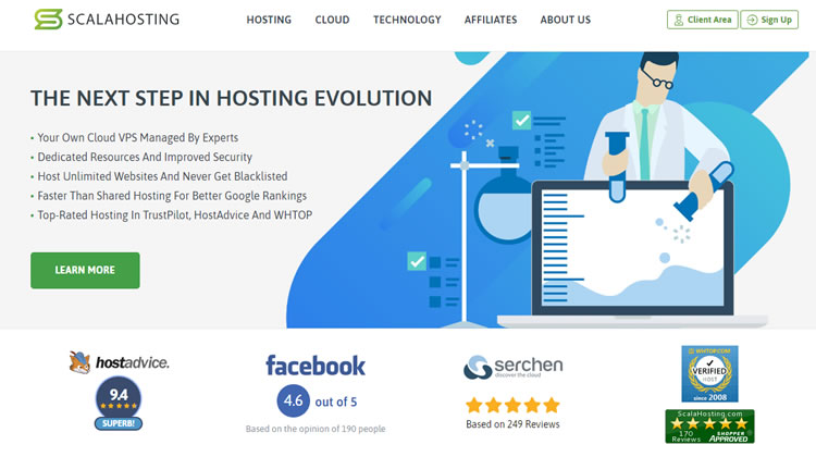 ScalaHosting - Good VPS Hosting