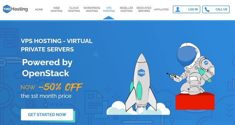TMDhosting VPS packages are cloud-based as well.