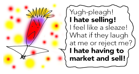 Do you hate selling?
