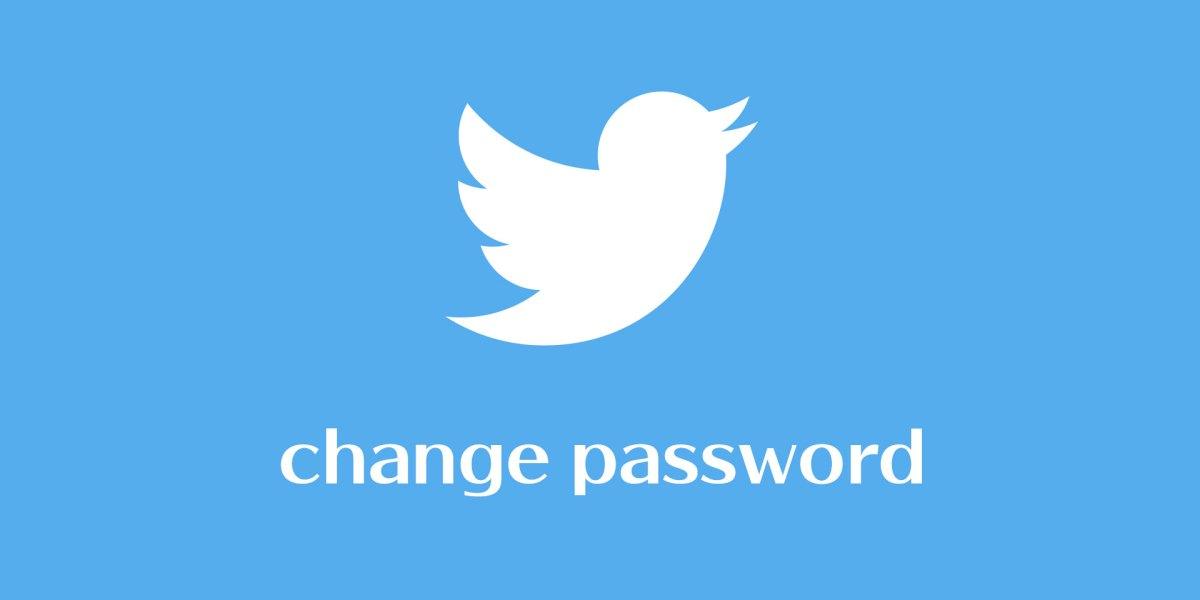Twitter Şifrelerinizi Değiştirin