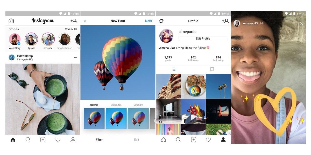 Instagram Lite Versiyonunu Piyasaya Sürdü