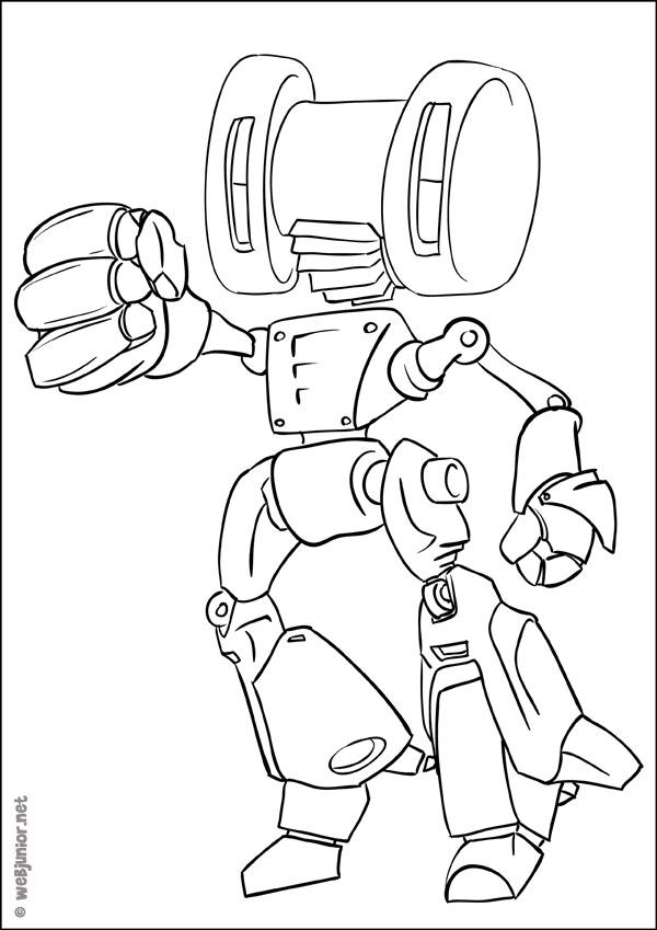 Dessin Nono Robot