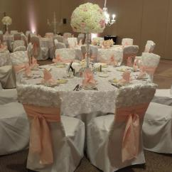 Cream Chair Covers For Weddings 3 Legged Camp Exclusive Linens Wedding Elegance By Joelle