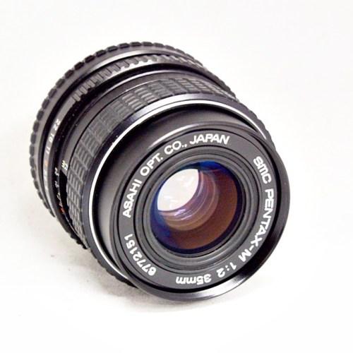 ペンタックスのカメラレンズ「smc PENTAX-M 35mm F2」買取実績