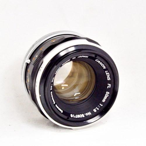キャノンのカメラレンズ「FL 50mm F1.8」買取実績