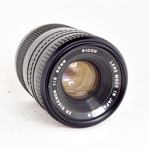 リコーのカメラレンズ「XR RIKENON 50mm F2」買取実績