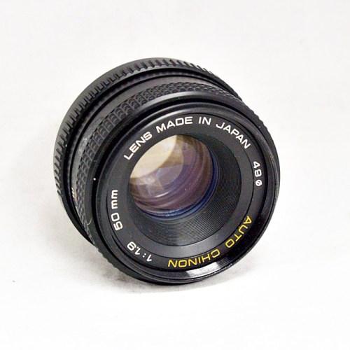 富岡光学のカメラレンズ「AUTO CHINON 50mm F1.9」買取実績