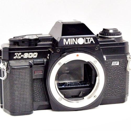 ミノルタのフィルム一眼カメラ「X-600」買取実績
