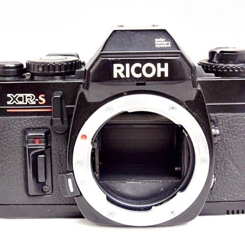リコーのフィルム一眼カメラ「XR-S」買取実績
