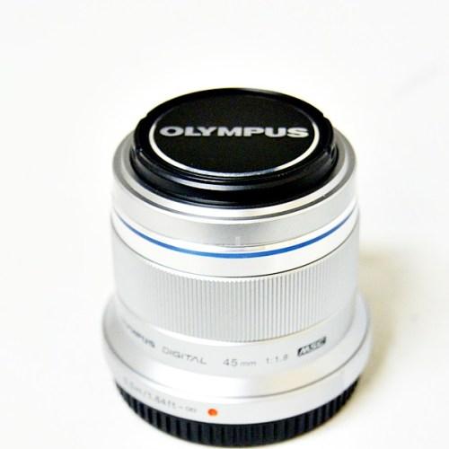 オリンパスのカメラレンズ「M.ZUIKO DIGITAL 45mm F1.8」買取実績