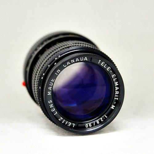 ライカのカメラレンズ「TELE-ELMARIT-M 90mm F2.8  」買取実績