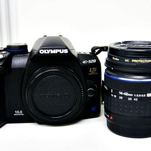 オリンパスのデジタル一眼レフカメラ「E-520 」買取実績