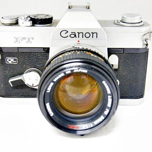 キャノンのフィルム一眼カメラ「FT」買取実績