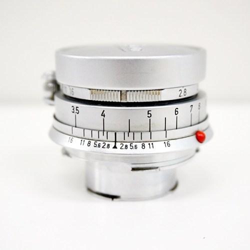 ライカのカメラレンズ「ELMAR M50mm F2.8」買取実績