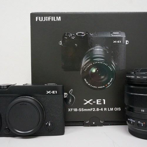 フジフィルムのミラーレスカメラ「X-E1 レンズキット」買取実績