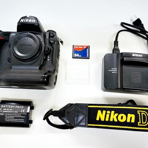 ニコンのデジタル一眼レフカメラ「D2X」買取実績