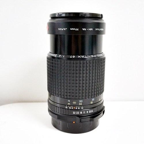 ペンタックスのカメラレンズ「SMC 67 200mm F4」買取実績