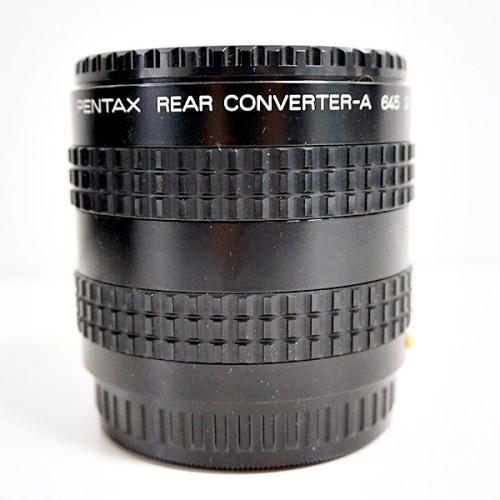 ペンタックスのカメラレンズ「REAR CONVERTER-A 645 2X」買取実績