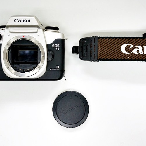 キャノンのフィルム一眼カメラ「EOS55」買取実績