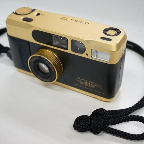 コンタックスのその他カメラ「T2 ゴールド 60周年記念モデル」買取実績