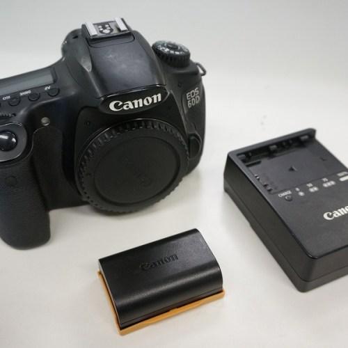 キャノンのデジタル一眼レフカメラ「EOS 60D」買取実績