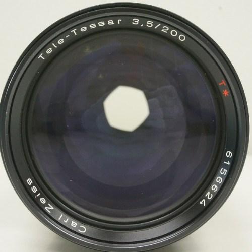 コンタックスのレンズ「Tele-Tessar 200mm F3.5 T*」買取実績