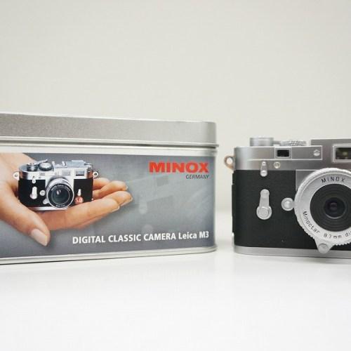 ミノックスのコンデジ「LEICA M3 PLUS 5.0」買取実績