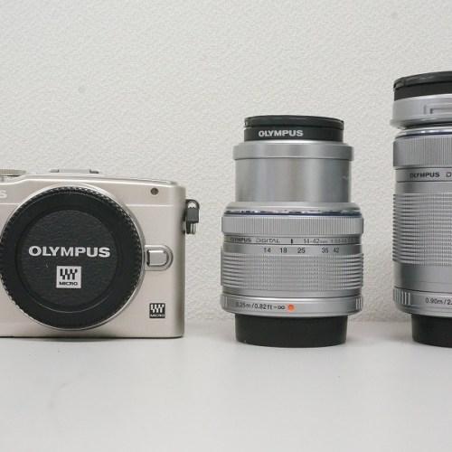 オリンパスのミラーレスカメラ「PEN Lite E-PL6」買取実績