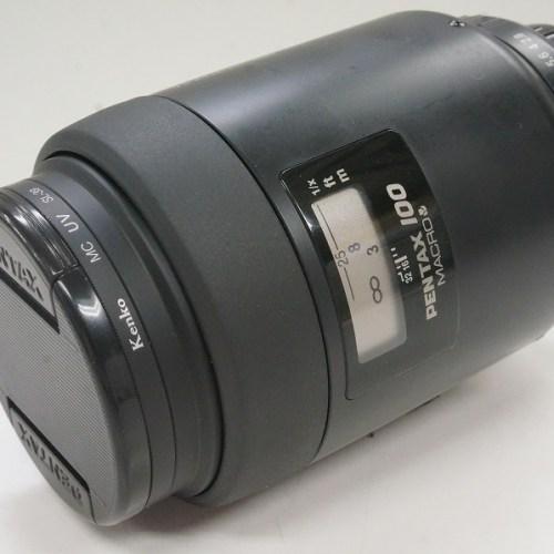 ペンタックスのレンズ「smc FA 100mm F2.8 MACRO」買取実績